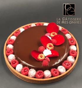 Tarte chocolat - Framboise 2
